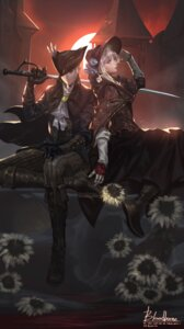 Rating: Safe Score: 15 Tags: baka_(mh6516620) bloodborne dress lady_maria_of_the_astral_clocktower plain_doll sword User: charunetra