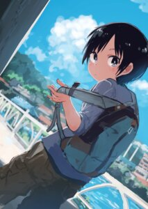 Rating: Safe Score: 9 Tags: inami_hatoko kurosaki_honoka yama_no_susume User: KazukiNanako