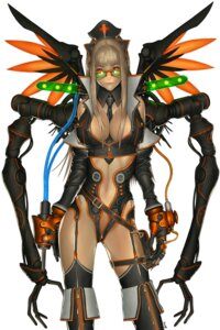 Rating: Questionable Score: 31 Tags: alien1452 cleavage erect_nipples mecha_musume User: maruvictor