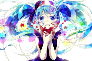 Rating: Safe Score: 14 Tags: hatsune_miku hoshino_kisora vocaloid User: Radioactive