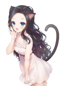 Rating: Safe Score: 61 Tags: a20_(atsumaru) animal_ears dress nekomimi tail User: Dreista