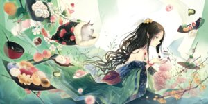 Rating: Safe Score: 38 Tags: kieta kimono neko pointy_ears User: Radioactive