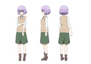 Rating: Safe Score: 10 Tags: character_design megane sakura_maiko sora_to_umi_no_aida sweater User: saemonnokami