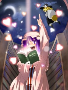 Rating: Safe Score: 5 Tags: kirisame_marisa orga patchouli_knowledge touhou User: konstargirl
