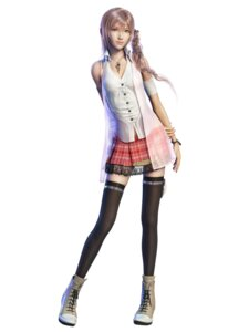 Rating: Safe Score: 62 Tags: cg final_fantasy final_fantasy_xiii serah_farron square_enix thighhighs User: kurokami