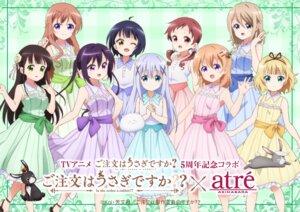 Rating: Safe Score: 24 Tags: aoyama_midori dress gochuumon_wa_usagi_desu_ka? hoto_cocoa hoto_mocha jouga_maya kafuu_chino kirima_sharo natsu_megumi tagme tedeza_rize tippy_(gochuumon_wa_usagi_desu_ka?) ujimatsu_chiya User: saemonnokami