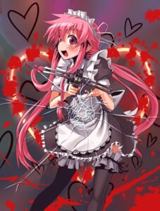 Rating: Safe Score: 19 Tags: gasai_yuno maid mirai_nikki patricia thighhighs User: Radioactive