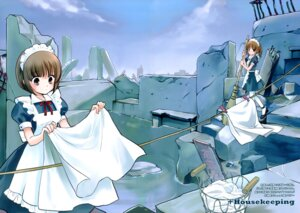 Rating: Safe Score: 9 Tags: fixed maid mainichi_nichiyoubi sakuragi_akira User: petopeto