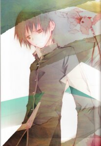 Rating: Safe Score: 5 Tags: bungaku_shoujo inoue_konoha male takeoka_miho User: Komori_kiri