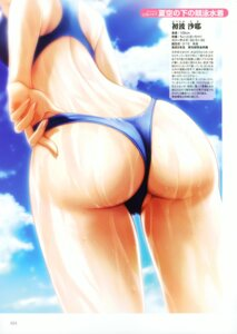 Rating: Questionable Score: 28 Tags: ass swimsuits ueda_metawo wet User: young1943