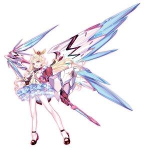 Rating: Questionable Score: 16 Tags: choco heels infinite_stratos mecha_musume weapon wings User: kiyoe
