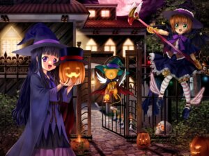 Rating: Safe Score: 19 Tags: bloomers card_captor_sakura daidouji_tomoyo halloween kerberos kinomoto_sakura moonknives User: blooregardo