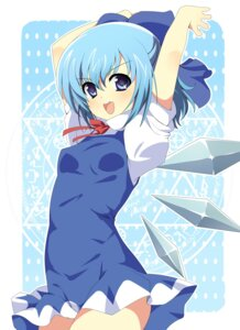 Rating: Safe Score: 19 Tags: cirno dress enje_(pixiv3289887) touhou wings User: charunetra