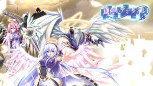 Rating: Safe Score: 23 Tags: angel armor daitenshi_mehisha eushully monster noutenshi_fadiel soukoku_no_arterial wallpaper wings yano_mitsuki User: SenjounoValkyria