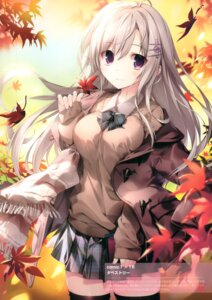 Rating: Questionable Score: 45 Tags: karomix karory seifuku sweater thighhighs User: kiyoe