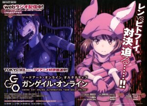 Rating: Safe Score: 16 Tags: bodysuit gun llenn nishimura_rie pitohui sword_art_online_alternative:_gun_gale_online tattoo User: drop