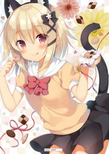 Rating: Questionable Score: 52 Tags: alice_or_alice_siscon_nii-san_to_futago_no_imouto animal_ears ichiri mako_(alice_or_alice) nekomimi tail User: yoyokirby