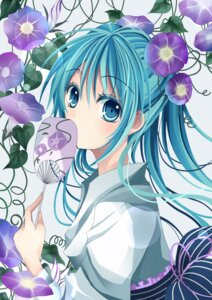 Rating: Safe Score: 33 Tags: hatsune_miku maria_(m-twi) vocaloid yukata User: Radioactive
