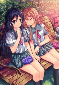 Rating: Safe Score: 81 Tags: aragaki_ayase kousaka_kirino ore_no_imouto_ga_konnani_kawaii_wake_ga_nai peach seifuku User: blooregardo