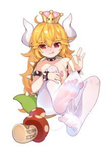 Rating: Explicit Score: 27 Tags: bandaid bowsette cum feet genderswap horns loli new_super_mario_bros._u_deluxe pantyhose pasties topless tsubasa_tsubasa User: Mr_GT