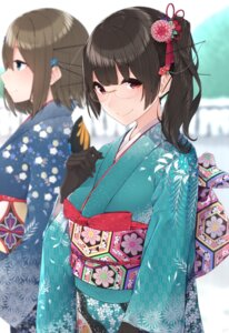 Rating: Safe Score: 37 Tags: choukai_(kancolle) kantai_collection kimono maya_(kancolle) megane yukichi_(sukiyaki39) User: Mr_GT