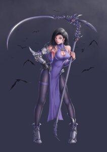 Rating: Safe Score: 20 Tags: chinadress cleavage erect_nipples gi_gi heels pantyhose weapon User: saemonnokami