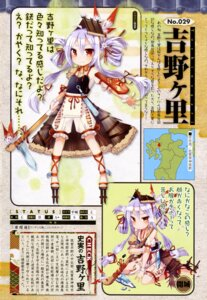 Rating: Questionable Score: 20 Tags: anthropomorphization aruya loli shirohime_quest torn_clothes weapon User: drop