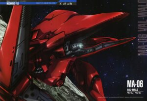Rating: Safe Score: 5 Tags: gun gundam gundam_0083 matsui_akira mecha weapon User: drop