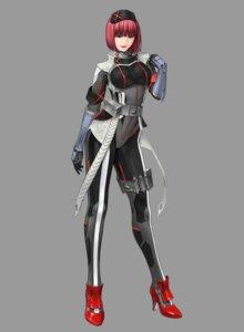 Rating: Safe Score: 9 Tags: bodysuit heels hironox sara_(zoids) zoids zoids_field_of_rebellion User: saemonnokami