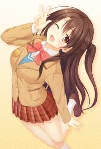 Rating: Safe Score: 40 Tags: pasdar seifuku shimamura_uzuki the_idolm@ster the_idolm@ster_cinderella_girls User: fairyren