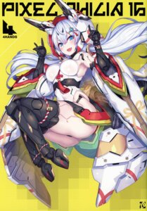 Rating: Questionable Score: 28 Tags: 2d ass mecha_musume pantsu thighhighs thong User: kiyoe