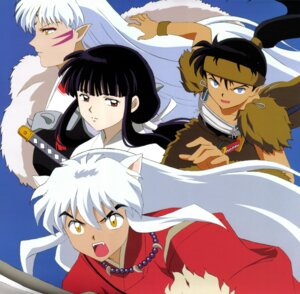 Rating: Safe Score: 3 Tags: animal_ears inumimi inuyasha inuyasha_(character) japanese_clothes kikyo kouga sesshoumaru sword User: Radioactive
