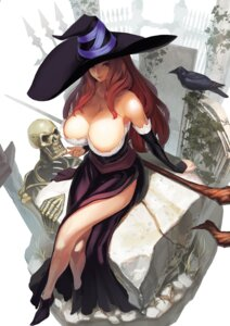 Rating: Questionable Score: 96 Tags: cleavage dragon's_crown sorceress tsunekun witch User: Nazzrie