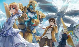 Rating: Safe Score: 31 Tags: aldnoah.zero asseylum_vers_allusia dress kaizuka_inaho mecha sandro slaine_troyard User: zero|fade