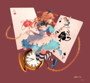 Rating: Safe Score: 20 Tags: alice alice_in_wonderland dress heels tagme thighhighs wings User: snM33