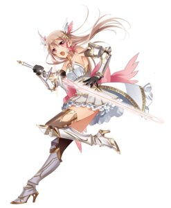 Rating: Safe Score: 66 Tags: armor character_design dress heels murakami_yuichi sanjo_tsubaki sword thighhighs unsimulated_incubator_eiyuu_butai_kakusei User: charunetra
