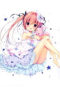 Rating: Safe Score: 25 Tags: canvas+garden dress miyasaka_miyu niwasaka_rira pantsu summer_dress User: lightsnow