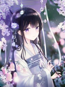 Rating: Safe Score: 57 Tags: artist_revision asian_clothes iren_lovel umbrella User: Mr_GT
