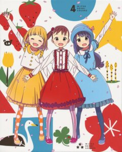 Rating: Safe Score: 15 Tags: akamatsu_yui dress kotoha_(mitsuboshi_colors) mitsuboshi_colors pantyhose sacchan_(mitsuboshi_colors) tagme User: xiaowufeixia