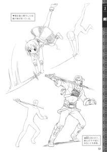 Rating: Safe Score: 1 Tags: monochrome sketch sword User: crim