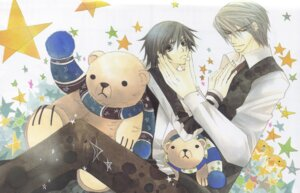 Rating: Safe Score: 4 Tags: akihiko_usami bleed_through junjou_romantica male misaki_takahashi yaoi User: charunetra