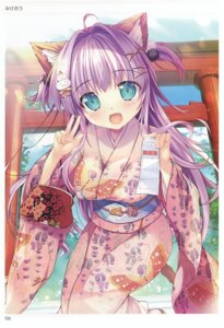 Rating: Questionable Score: 31 Tags: animal_ears kimono mikeou toranoana User: abcdefh