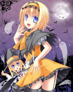 Rating: Safe Score: 28 Tags: alice_margatroid halloween pantsu sakuramochi_mint shanghai stockings thighhighs touhou witch User: 椎名深夏