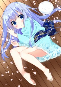 Rating: Safe Score: 40 Tags: cacao_(cacao0809) feet gochuumon_wa_usagi_desu_ka? kafuu_chino tippy_(gochuumon_wa_usagi_desu_ka?) yukata User: Mr_GT