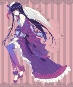 Rating: Safe Score: 44 Tags: dress enk thighhighs wings User: charunetra