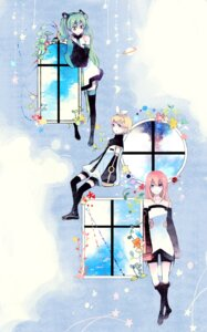 Rating: Safe Score: 16 Tags: hatsune_miku kagamine_rin ky692 megurine_luka vocaloid User: charunetra