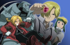 Rating: Safe Score: 5 Tags: alphonse_elric edward_elric fletcher_tringham fullmetal_alchemist male russell_tringham User: charunetra