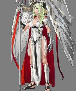 Rating: Questionable Score: 5 Tags: armor cleavage fire_emblem fire_emblem_heroes kozaki_yuusuke nintendo nott_(fire_emblem) pantsu string_panties transparent_png weapon User: Radioactive