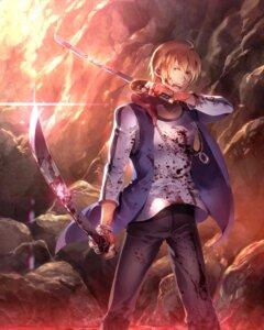 Rating: Safe Score: 11 Tags: blood domon_seijirou fukai_ni_nemuru_oujo_no_abaddon male sunakumo sword User: Mr_GT