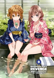 Rating: Questionable Score: 138 Tags: cleavage fujinomiya_neko koiwai_yoshino masamune-kun_no_revenge open_shirt tiv wet yukata User: kiyoe